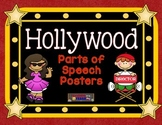 Hollywood Themed Parts of Speech Posters
