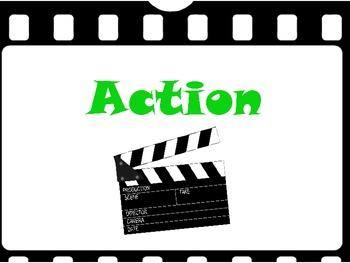 Hollywood/Movie Theme Behavior Clip Chart