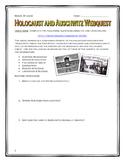 Holocaust & Auschwitz - Webquest with Key (Inside the Nazi
