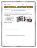 Holocaust & Auschwitz - Webquest with Key (Inside the Nazi