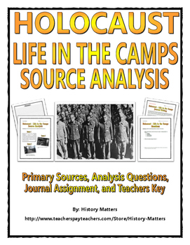 Holocaust - Life in the Camps (Source Analysis, Questions,