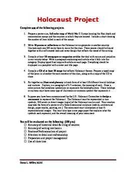 Holocaust Project