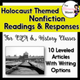 Holocaust Themed Nonfiction Readings & Responses for ELA,