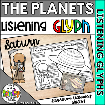 """Holst's """"Saturn"""" from The Planets (Listening Glyph)"""