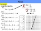 Holt Algebra 5.1B Linear Equations & Functions (y variable
