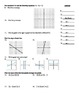 "Holt Algebra Chapter 5A ""Linear Functions"" Test (c) - DOC & PDF"