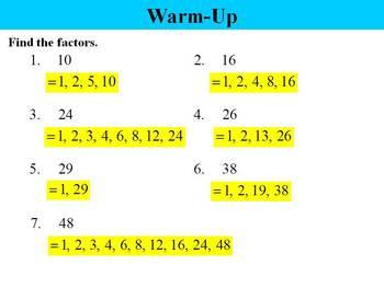 """Holt Algebra Chapter 8 """"Factoring Polynomials"""" PPT Bundle"""