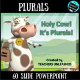 Plurals PowerPoint Lesson