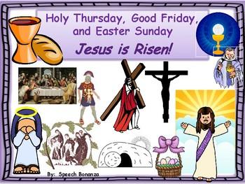 Holy Thursday, Good Friday and Easter Sunday- Catholic Int