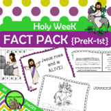 HOLY WEEK EASTER  {PreK K 1st}