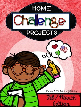 Home Challenge Projects: February/ March