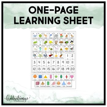 Home Folder Learning & Organization