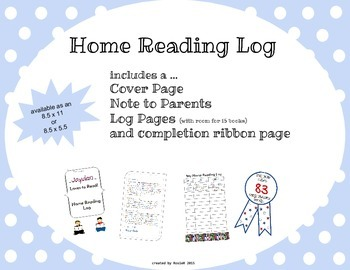 Home Reading Log