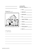 Home Real Estate Listing PLUS Creative Writing & Adjective Work