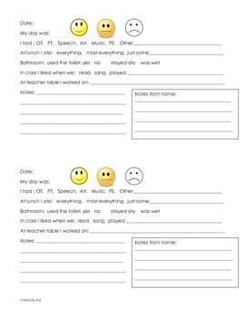 Home-School Communication Journal