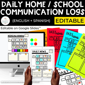 Home/ School Communication Sheets