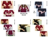 Home Series Sign Language (ASL) Vocab Cards - SUPER PACK -