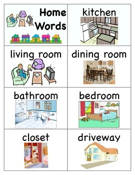 Home Word Cards