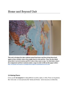 Home and Beyond Unit