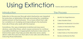 Home and Community Guide to Extinction: ABA Therapy
