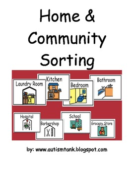Home and Community Items Sorting