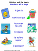 Home in French Matching Activities