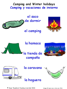 Home in Spanish Matching Activities