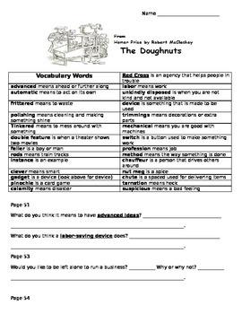 Homer Price: The Doughnuts by Robert McCloskey