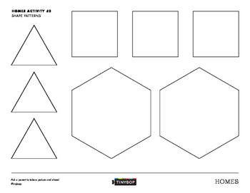Homes Activity #3 (Shape Patterns)