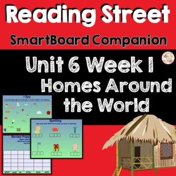 Homes Around the World SmartBoard Companion Kindergarten