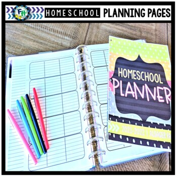 Homeschool Binder Planning Pages