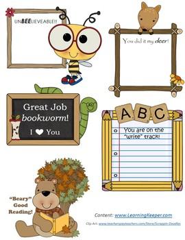 Cute Motivation Notes for Homeschool Achievement