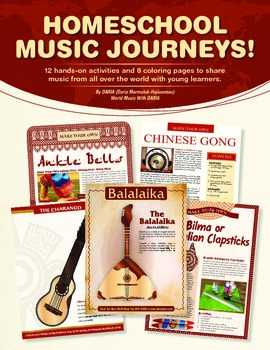 Homeschool Musical Journeys E-book - With Instrument Craft