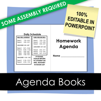 Homework Agenda Book
