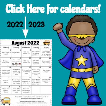 Homework Calendars 2016-2017 {Editable}
