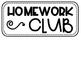 Homework Club board