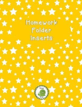 Homework Folder Helps