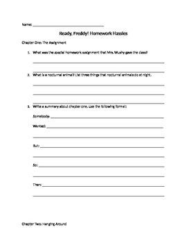 Homework Hassles Comprehension Guide