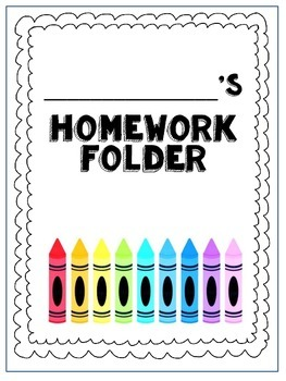 Homework Helper and Cover Page