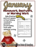 Homework Helpers for January