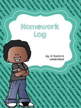 Editable Homework Log