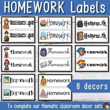 Homework Magnet for your Board