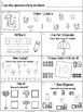 Homework Mega Bundle: Kindergarten (Back to School Fall Wi