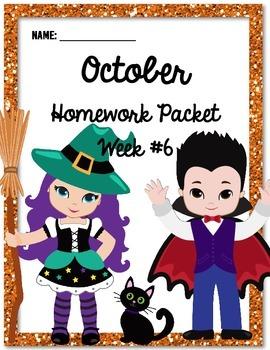 Homework Packet 6