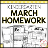 Homework Packet: Kindergarten | March