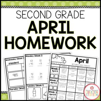 Homework Packet: Second Grade | April
