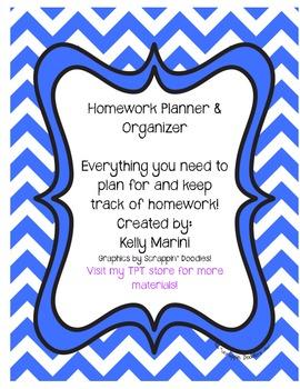 Homework Planner & Organizer