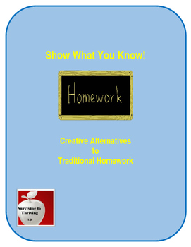 Homework: Show What You Know