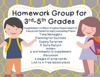 Homework Small Group: Supplement for WV Counseling Curriculum