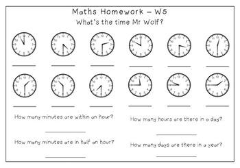 Homework Term Pack